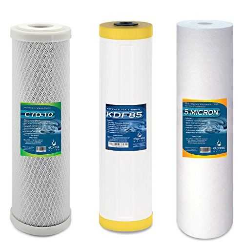Express Water Whole House Heavy Metal Water Filter Set 3 Stage Filtration Replacemen Whole House Water Filter Best Water Filter Best Reverse Osmosis System