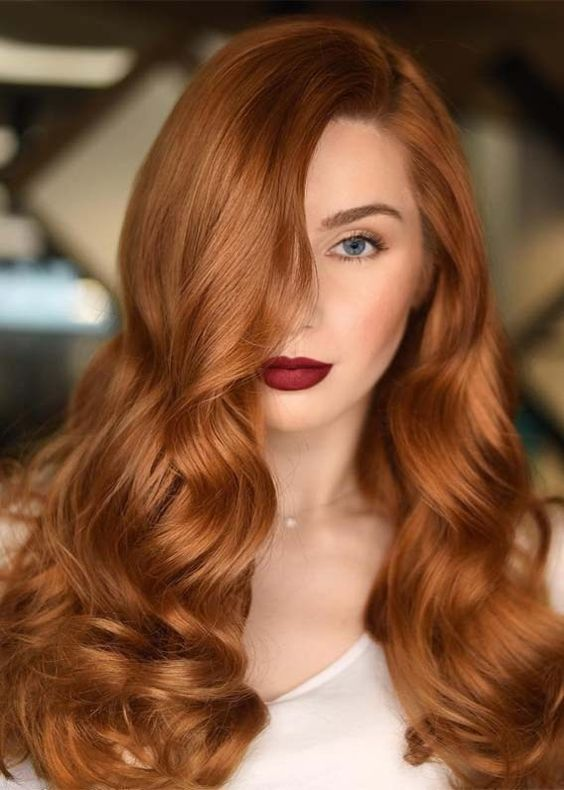 Top 10 Hairstyles For Women With Copper Hair Color En 2020 Color