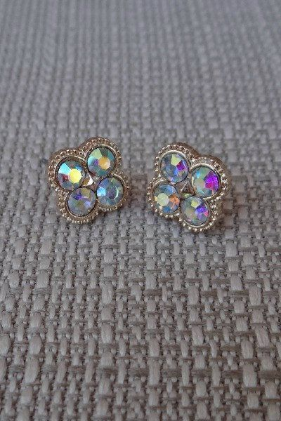 Bedazzled Beauty Studs (clear)
