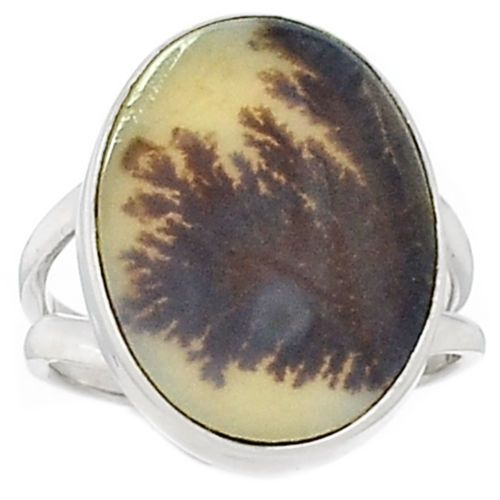 Scenic-Dendritic-Agate-925-Sterling-Silver-Ring-Jewelry-s-6-SR142795