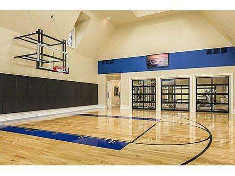 4939 Manson Ct Dallas Tx 75229 Home Basketball Court Home Gym Design Indoor Basketball Court