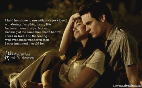 An analysis of a walk to remember by nicholas sparks