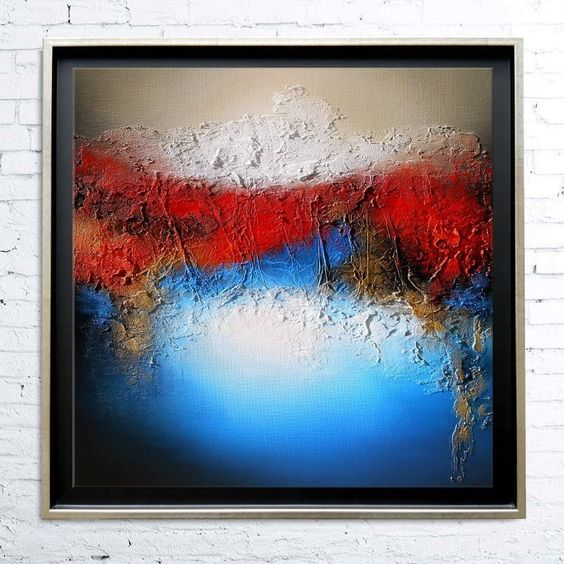 Top Tableau Acrylique Moderne Contemporain – Palzon.com LA85