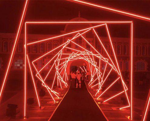 Holiday Lights Led Strip Light Tunnel For Sale In 2020 Strip Lighting Light Tunnel Holiday Lights