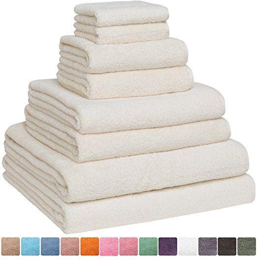 Fast Drying Extra Large Bath Towel Set Decorative Luxury