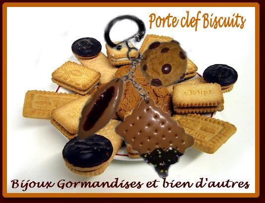 Porte clef biscuite