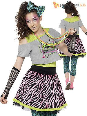 Ladies 80s wild #child #costume adults 1980s fancy dress #womens hen party outfit, View more on the LINK: http://www.zeppy.io/product/gb/2/401095035384/
