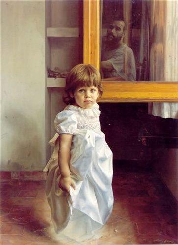 Retrato de Viridiana Sicart Diez by Eduardo Naranjo (1944, Spanish)