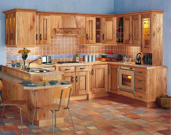 Beautiful Modular Kitchen Design Stylish Wooden Wardrobe Dining Amusing Wardrobe Kitchen Designs Design Decoration