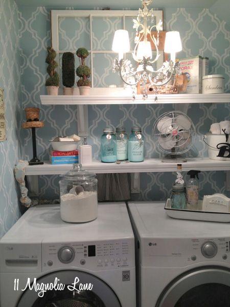 laundry room retro wallpaper - photo #23