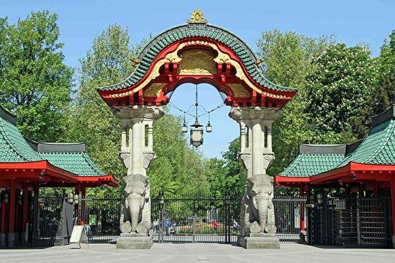 Zoo Berlin Elefantentor Garten Berlin Zoologischer Garten Zoo Deutschland