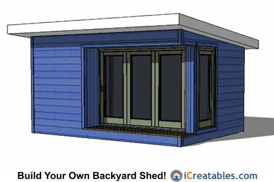 12x16 modern shed plans dream house pinterest sheds for Modern shed prices