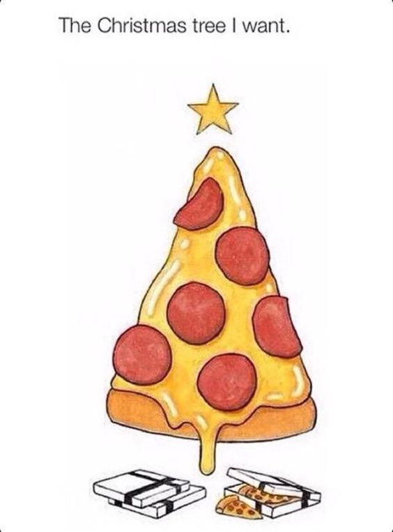 All I Want For Christmas Is Pizza Art Pizza Wallpaper Christmas Wallpaper