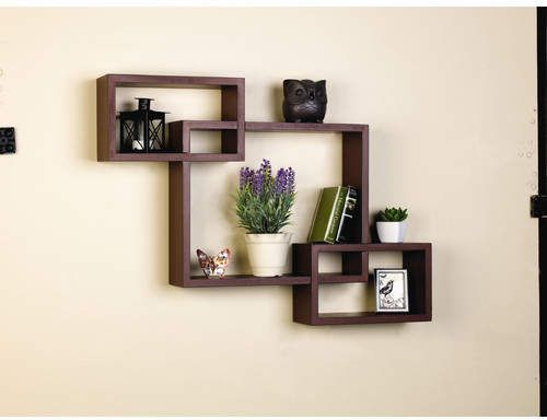 Zipcode Design Dupoint Interlocking Shelves Wall Shelf Decor