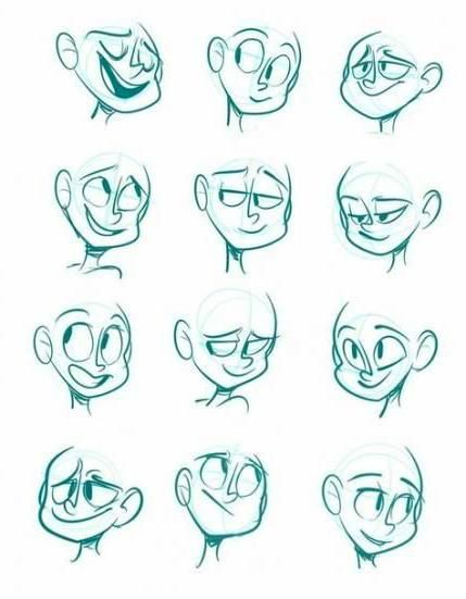 How To Draw Drawing Cartoon Characters Animation Drawing Cartoon Faces Drawing Cartoon Characters