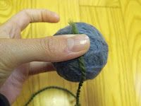 Make your own wool dryer balls