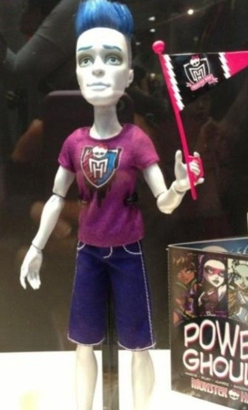Monster High Ghouls Spirit Mo Moe Deadovitch Slow Moe