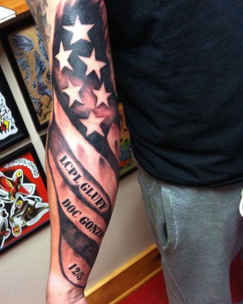 101 Best American Flag Tattoos Patriotic Design Ideas 2020 Guide Flag Tattoo American Flag Tattoo Back Tattoos For Guys