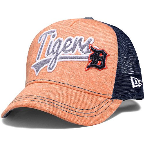 Detroit Tigers Women's Shorty Swoop 9FORTY Adjustable Cap by New Era - MLB.com Shop