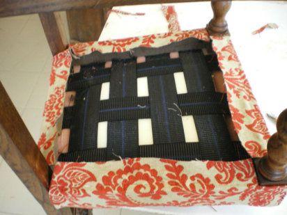 Conoce la t cnica para restaurar asientos antiguos - Precio de tapizar un sofa ...