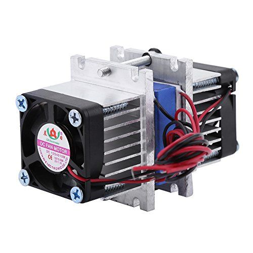Diy 144w Dual Chip Thermoelectric Peltier Refrigeration Tec1 12706 Cooler With Water Cooling System Single Cooler Thermoelectric Generator Hvac System Water Cooling