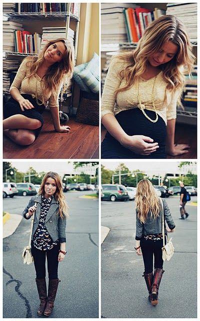 pregnant fashion: