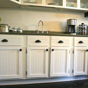 Kitchen Cabinet Doors With Beadboard Beadboard Kitchen Beadboard Kitchen Cabinets Wainscoting Kitchen