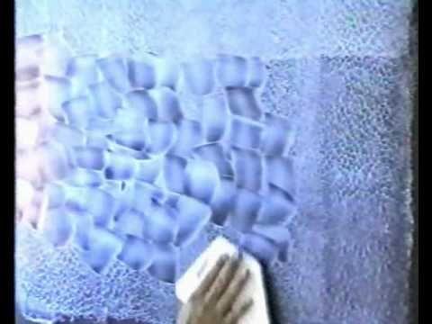 ▶ Декоративная отделка стен - YouTube