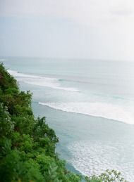 Romantic Cliff-top Wedding by the Sea in Bali - Style Me Pretty