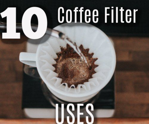 Folger Coffee Container Ideas Reuse Coffee Filters Coffee Container Coffee Filter Uses