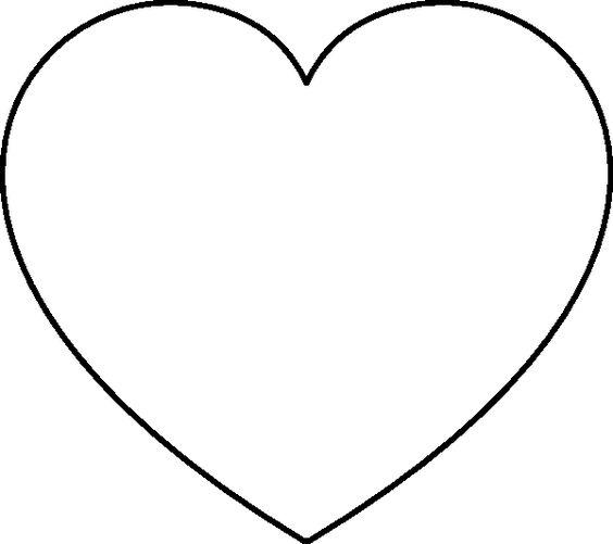Sewn Applique Shape Shapes Heart Star Printable