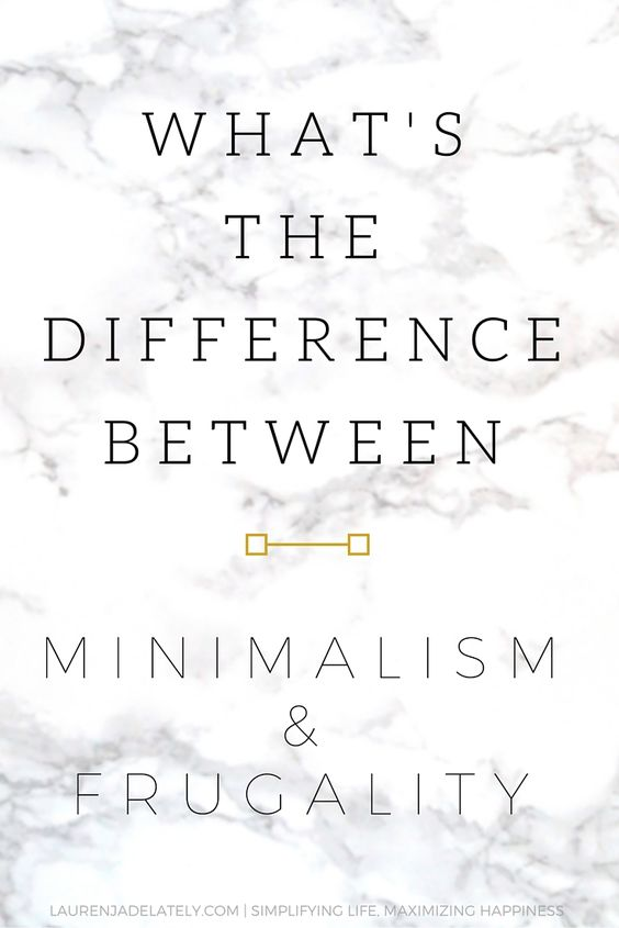 What is the difference between minimalism and frugality? | laurenjadelately.com minimalist lifestyle blogger: