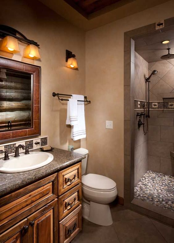 Pinterest the world s catalog of ideas for Earth tone bathroom ideas