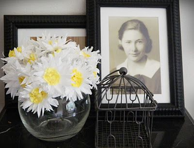Coffee Filter Daisies