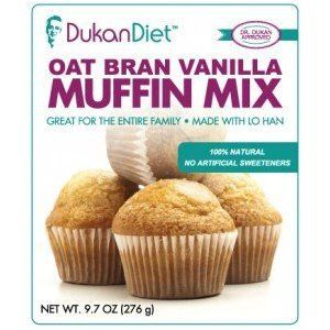 Dukan Diet Oat Bran Vanilla Muffin Mix - 9.7 oz
