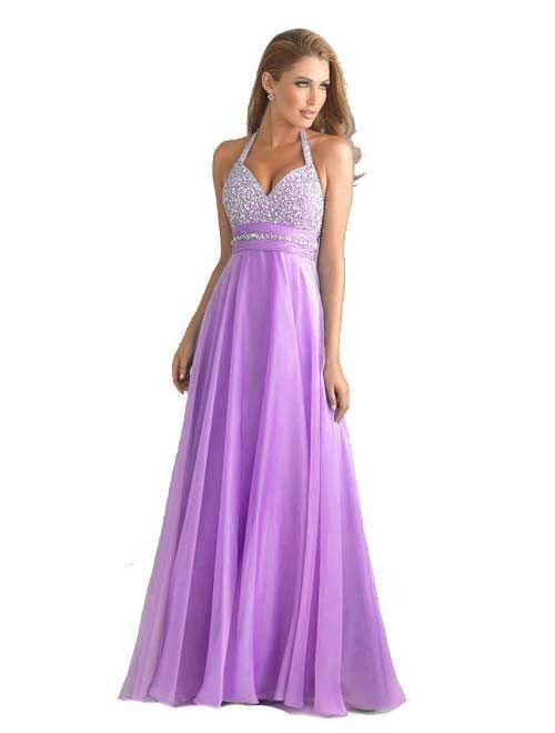 Prom dress unique light