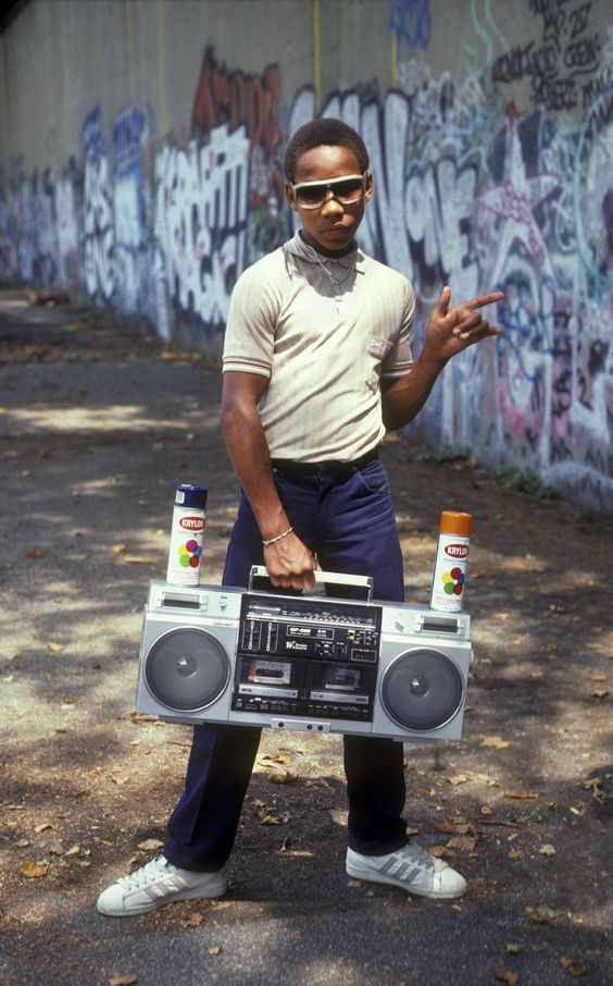 1980's New York // hip-hop & graffiti culture: