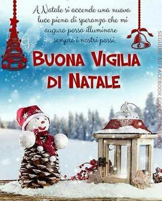 Buongiorno Splendida Domenica E Felice Vigilia Di Natale Natale