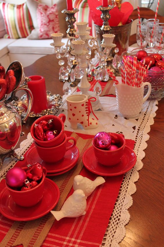 Valentines ideas tablescapes pinterest valentines Valentine stage decorations