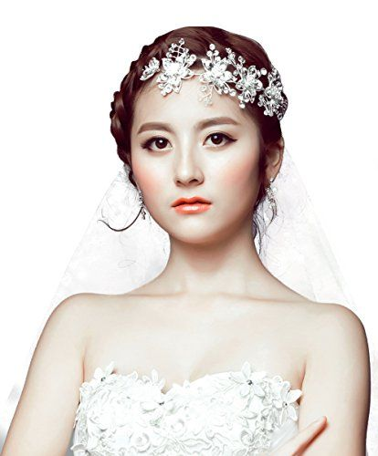 Jesming® Bridal Wedding Tiara Crown with Crystal Flowers JESMING http://www.amazon.com/dp/B0132V67Z0/ref=cm_sw_r_pi_dp_NBd4vb0HH1BYE