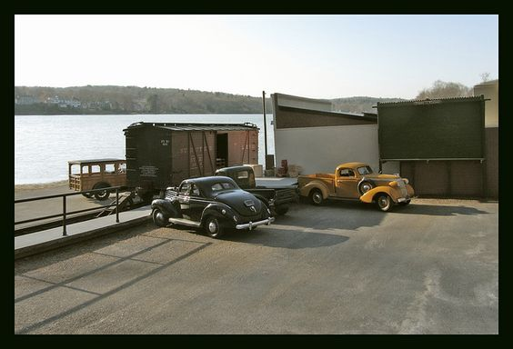 Along the Ohio River -1938 diecast vehicles by Michael Paul Smith, via Flickr