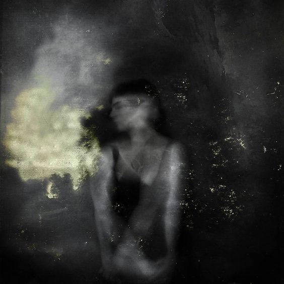 Hanan Kazma (partiallyHere) #abstract #self #portrait #art