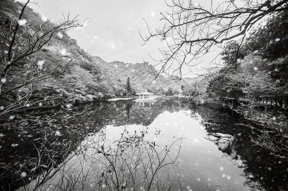 Mùa đông bao phủ cả công viên quốc gia Naejangsan