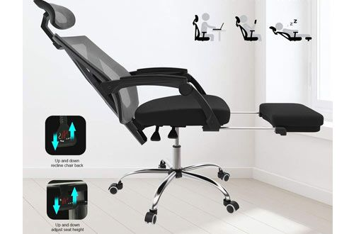 Top 10 Best Ergonomic Reclining Office Chairs With Footrest