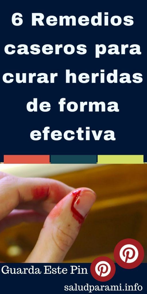 Remedios naturales para cicatrizar heridas de cirugia