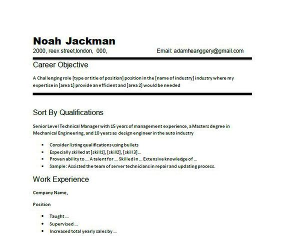 resume-objective-examples-10 Resume Cv Design Pinterest - job resume objective examples