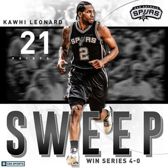 Image result for spurs sweep