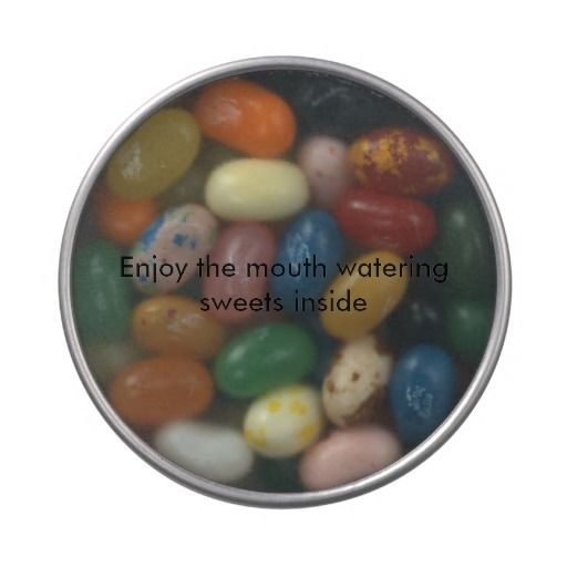 Sweets and treats jelly belly tins