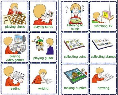 daily activities Clip Art   daily routines flashcards printable ...