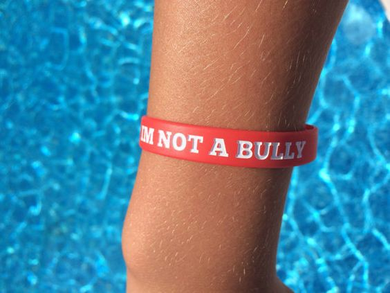 This 100% silicone bracelet, raises awareness about bullying around the world! Show your friends that bullying isnt cool by sporting one of these